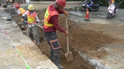 芒市城区雨污分流节点建设将于10月底完工