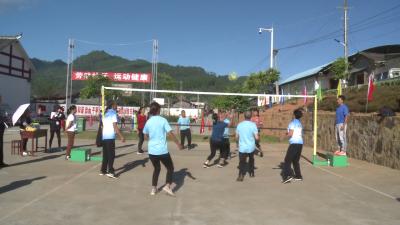 【傣语】勐戛老百姓欢聚在一起 参加精彩运动会