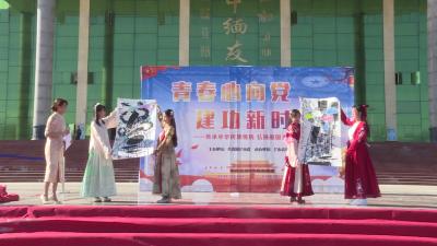 【傣语】芒市54家企业青年齐聚一堂 传承传统文化 弘扬爱国精神