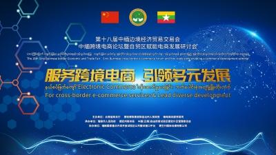 中缅跨境电商论坛暨自贸区赋能电商发展研讨会