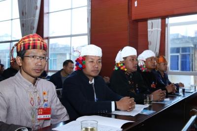 芒市第三届人民代表大会第三次会议开幕