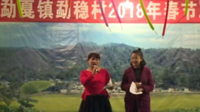 勐戛镇勐稳村2018春节联欢晚会