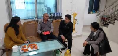 市委常委、市委组织部部长吴翔带队开展春节前慰问活动