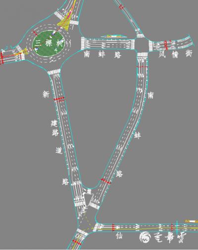 南蚌路消防大队路口至三棵树段改单向行驶,芒市首条南北向闭环单行线路最新信息早知晓!