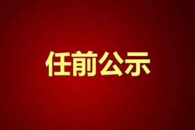 权威发布| 中共芒市委组织部市管干部任前公示公告