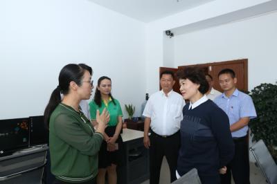 省广播电视局来我市检查迎接新中国成立70周年广播电视安全播出工作