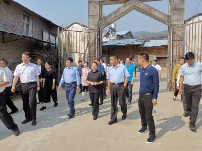 上海市青浦党政代表团到芒市考察对口帮扶进展情况