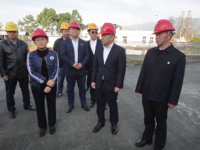 市委书记赵冬梅率队检查春节前安全生产和市场供应工作