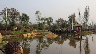 【载瓦语音视频】假期好去处,芒市首家湿地公园免费开放