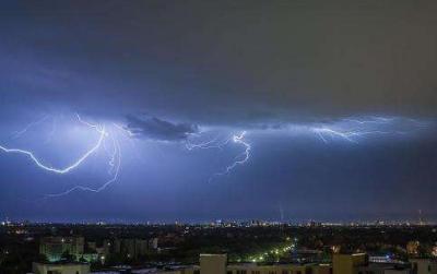 雷电、大风、强降雨...芒市发布雷电黄色预警!