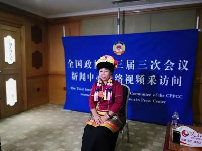 【两会声音】住滇全国政协委员魏艺红、张敏做客网络视频采访间