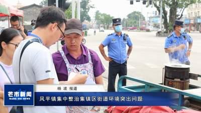 风平镇集中整治集镇区街道环境突出问题