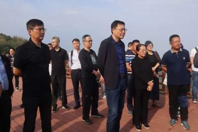 上海市青浦区代表团到芒市考察沪滇帮扶项目建设情况