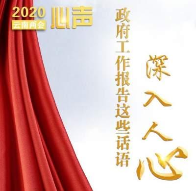 从掌声到心声 云南省政府工作报告里这些话语暖心又提气!