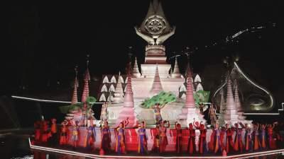 芒市傣族风情实景歌舞晚会《孔雀起舞的地方》即将亮相