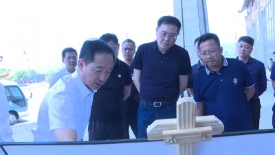 【芒市载瓦语新闻】上海市青浦区代表团到芒市考察沪滇帮扶项目建设情况