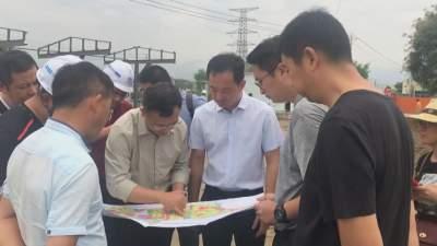 【傣语】毛晓调研芒市大河综合治理PPP项目实施情况