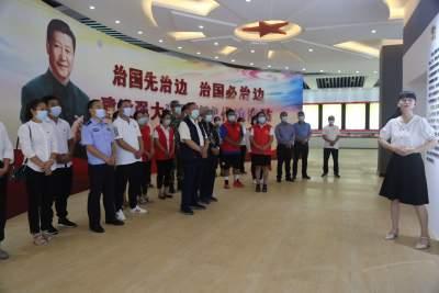 """【文明实践】今天,勐焕街道南蚌社区党员们与""""强边固防""""有一场""""约会"""""""