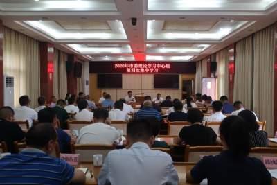 中共芒市委理论学习中心组举行2020年第4次集中学习会