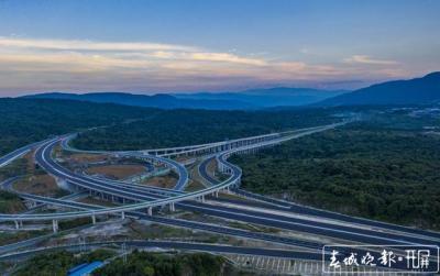 腾陇高速正式通车,德宏州5个县市全部通高速!