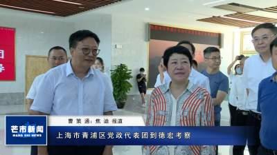 上海市青浦区党政代表团到德宏考察