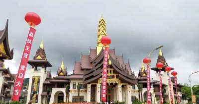 芒市又添一地标建筑:傣族古镇勐焕王宫,值得一看!