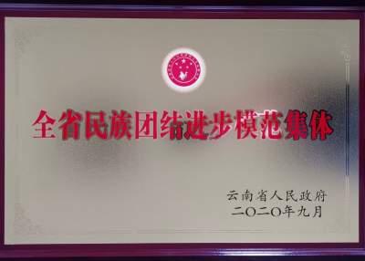 德宏边境管理支队遮放边境派出所获评云南省民族团结进步模范集体