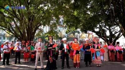 德宏芒市版《我爱你,中国》各民族同唱一首歌