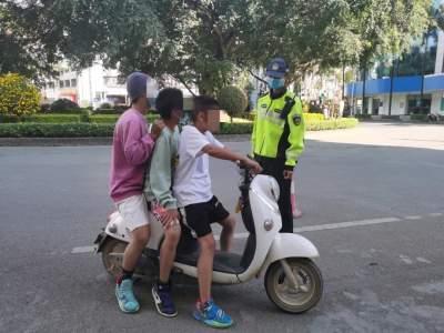 @家长们,未满16周岁驾驶电动车属于违法行为!