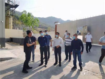 马云峰现场督办突出生态环境问题整改工作