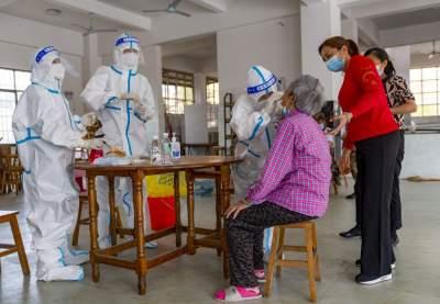 中国边境城市瑞丽争分夺秒全力抗疫