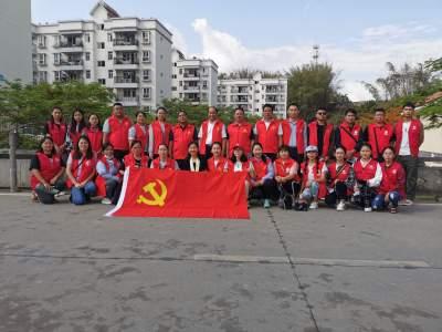 党员群众齐参与,文明创建工作在南蚌社区扎根