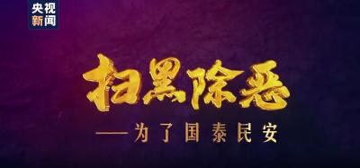大型政论专题片《扫黑除恶——为了国泰民安》六集连播