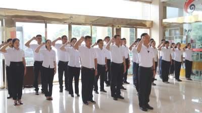 【傣语】芒市举行庆祝中国共产党成立100周年新党员宣誓活动