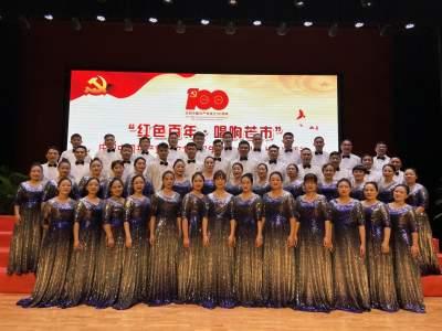 芒市民政局党总支组织多形式活动 庆祝中国共产党成立100周年