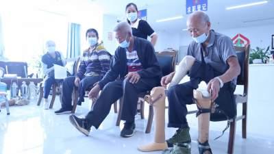 芒市34名肢体残疾人获得免费安装假肢