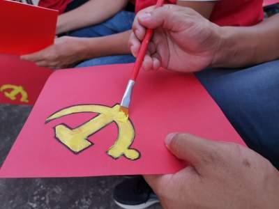 党史教育丨从党建展览馆到清塘河水库,芒市水利人的这个活动充满能量