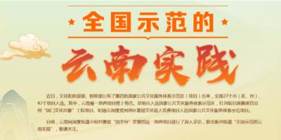 专题丨全国示范的云南实践