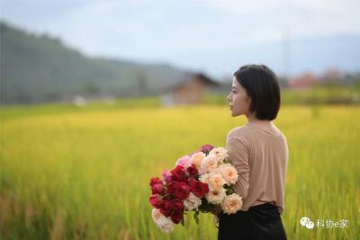 芒市这个95后姑娘用鲜花创造着幸福生活