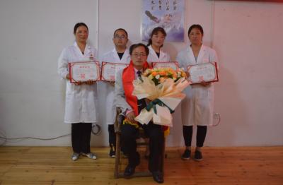 刘正华传承工作室二级工作站在和顺镇卫生院揭牌
