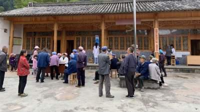 明光镇卫生院开展免费体检服务
