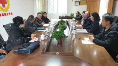 云南省红十字会领导莅腾调研疫情防控工作