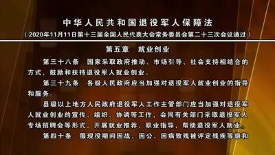 中华人民共和国退役军人保障法(第五章).mpg