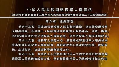 中华人民共和国退役军人保障法(第八章).mpg