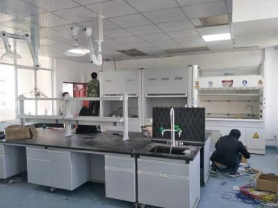 腾冲市农产品质量安全检测站实验室完成改造