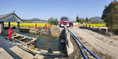 腾冲和顺古镇开展供水能力测试实战演练