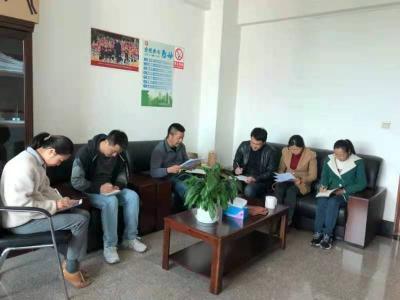 人社局纪检组传达学习市纪委二届五次全会精神