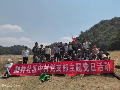 中和勐蚌:环境保护齐动手,绿水青山党旗飘