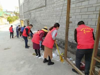 腾冲市委组织部到网格区开展志愿服务活动