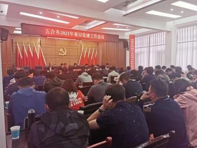 五合乡召开2021年基层党建工作会议